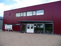 Voorkant fitness centrum